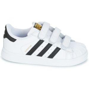 Adidas Superstar CF I, Chaussures de Fitness Mixte Enfant, Blanc (Ftwbla/Negbas 000), 27 EU