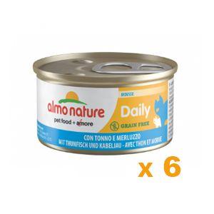 Almo Nature Daily menu - Lot 6 x 85 g