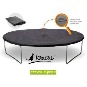 Kangui Couverture de protection pour trampoline 300 cm
