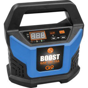 Güde GAB 12V-15A Boost 85143 Chargeur automatique, Contrôleur de batterie, Chargeur, Booster de tension de charge, Système de démarrage rapide 12 V 2 A, 6 A,