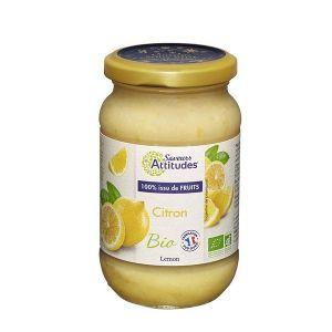 Saveurs attitudes Crème de citron bio sans sucre ajouté - 3 pots de 310g