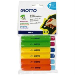 Giotto Porte-craies x 5 + 1 gratuit