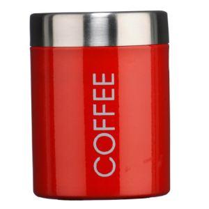 Premier housewares 0508679 - Boîte à café en émail et couvercles en inox