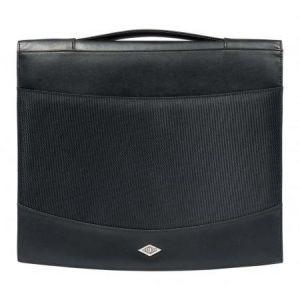 Wedo 58 5701 - Conférencier Elegance, format A4, simili cuir, noir