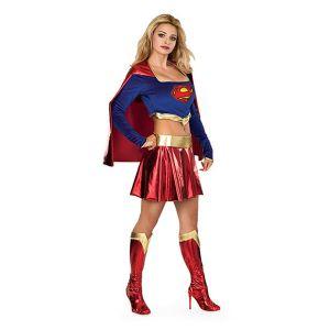 Déguisement supergirl sexy femme