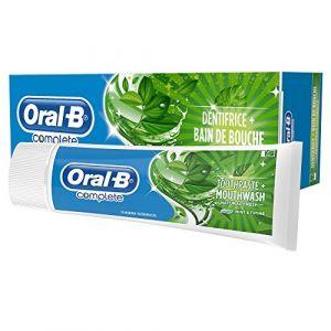 Oral-B Complete - Dentifrice + Bain de bouche fraîcheur naturelle