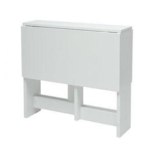 Console Emerson Leds 2 Tiroirs Mdf Laque Blanc Comparer Avec