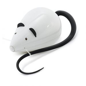 FroliCat PetSafe Jouet pour Chat Automatique ROLORAT, Souris Mécanique Rotative, Jouet Interactif, Fonction Jeu en Votre Absence - pour Chat