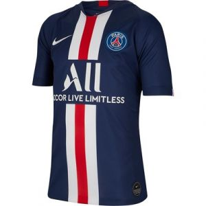 Nike Maillot de football Paris Saint-Germain 2019/20 Stadium Home pour Enfant plus âgé - Bleu - Taille S - Unisex