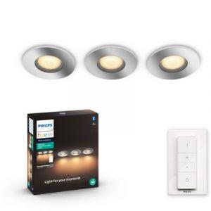 Philips Luminaire Extérieur HWA ADORE Kit de 3 spots encastrés 3x5W