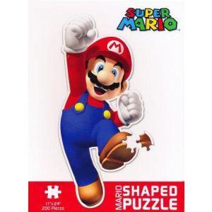 Abysse Corp Puzzle Nintendo Super Mario : Forme Mario 550 pièces
