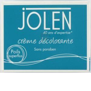Jolen Crème décolorante 125ml, activateur 30g