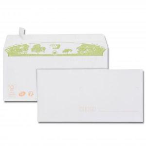 Gpv 32122 - Enveloppe Green Erapure 110x220, 80 g/m², coloris blanc - paquet de 40