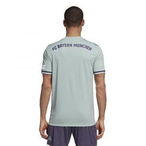 Adidas Fc Bayern Munich Away 18/19 - Ash Green / Trace Purple / White - Taille XL