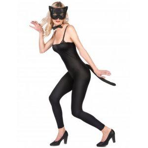 Kit chat noir dentelle adulte Taille Unique