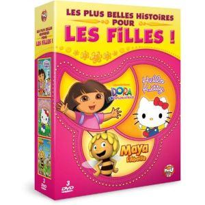 Les plus belles histoires pour les filles - Dora l'exploratrice + Hello Kitty + Maya l'abeille