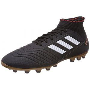 Image de Adidas Predator 18.3 AG, Chaussures de Football Homme, Noir (Core Black/FTWR White/Solar Red), 41 1/3 EU