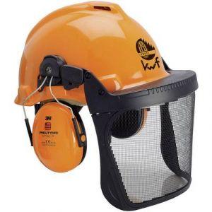 Casque forestier G22D 3M XA007707335 orange