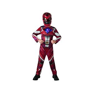 Rubie's Déguisement Power Rangers rouge