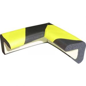 Viso 1 mousse de protection en coin noire et jaune PU30NJ