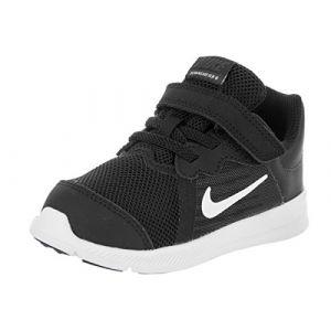 Nike Downshifter 8 (TDV), Sneakers Basses bébé garçon, Multicolore (Black/White-Anthracite 001), 25 EU