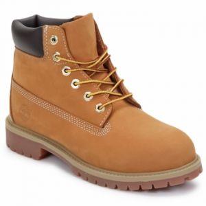 Timberland 6 Classic 6 In Premium Wp Boot, Bottes Classiques Mixte Enfant,Jaune (Wheat yellow), 26.5 EU