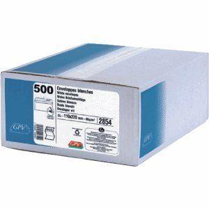 Gpv 500 enveloppes 11 x 22 cm