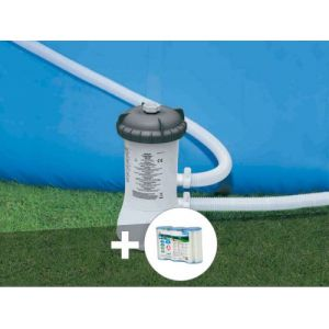 Intex Epurateur à cartouche 2 m³/h + 3 cartouches A