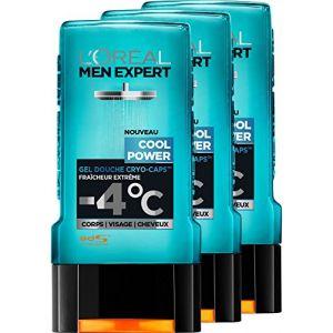 L'Oréal Men Expert Cool Power Fraicheur Extrême Gel Douche pour Homme 300 ml