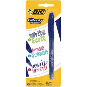 Bic Roller Bleu Thermosensible Encre-Gel Gelocity Illusion
