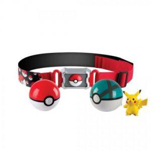 Tomy Ceinture de Poké Ball dresseur Pokémon Pikachu