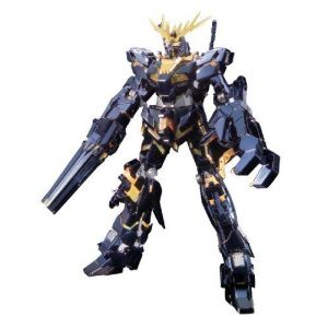 Bandai Hobby Banshee Titanium Finish Master Grade 1/100 Rx-0 Gundam Unicorn Unit 02 Action Figure
