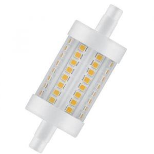 Osram Ampoule crayon LED 78 mm R7S 8 W équivalent a 75 W blanc chaud