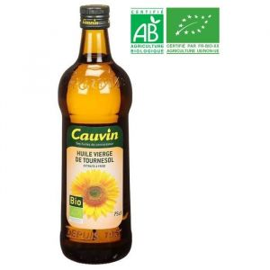Cauvin Huile Tournesol Bio - 75 cl