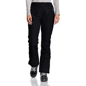 Protest Kensington Pantalon de Ski Femme True Black FR : M (Taille Fabricant : M/38)