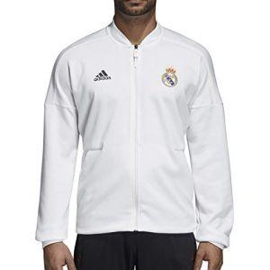 Adidas Veste Real Madrid Z.N.E. Blanc