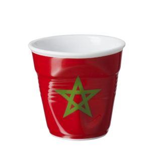 Revol Gobelet Froissé Drapeau Maroc