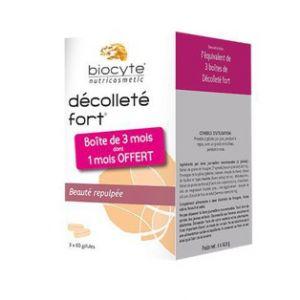 Biocyte Décolleté Fort Pack 180 gélules