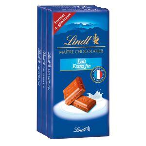 Lindt Chocolat au lait extra fin