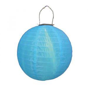 Blachère illumination Lampion solaire 30 cm - bleu