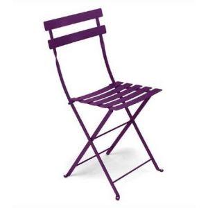 Fermob Bistro - Chaise de jardin pliante en métal