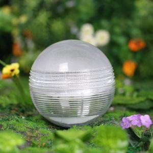 Galix Boule solaire étanche multicolore 11 cm