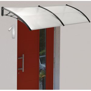 Marquise polycarbonate avec support 80x100cm