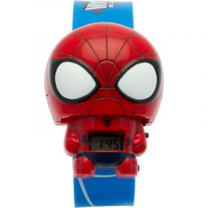 Bulbbotz 2020121 - Montre digitale Marvel Spiderman pour enfant - Bleu