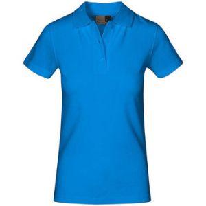 Promodoro Polo supérieur Femmes, XS, turquoise