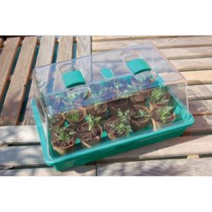 "Nortene Mini serre pour semis "" Rapid Grow"" - 38 x 24 x 18 cm - Vert"