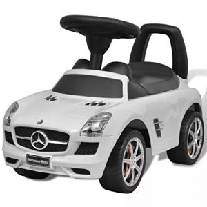 VidaXL Mercedes Benz Pousse-pied Véhicule Voiture à Pédales Jouet d'Enfant