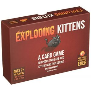 Exploding kittens Edition Originale - Jeu de Cartes - Version Anglaise