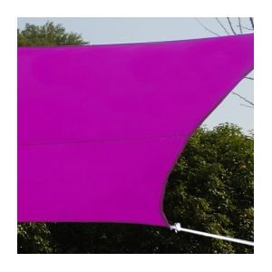 Voile d'ombrage rectangulaire 3 x 4 m