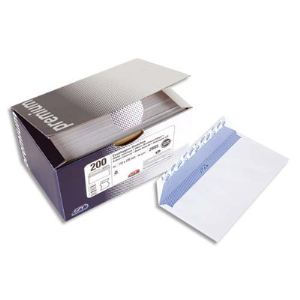 Gpv 100 enveloppes Premium 16,2 x 22,9 cm avec fenêtre 4,5 x 10 cm